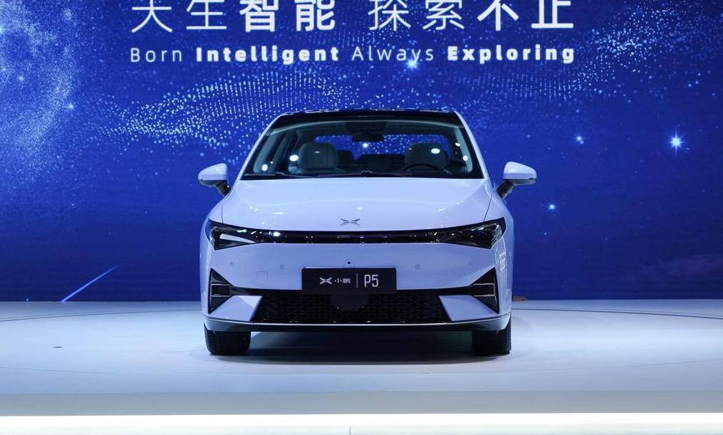 小鹏家族再添一员 新车P5将配备激光雷达 预计15万元起售