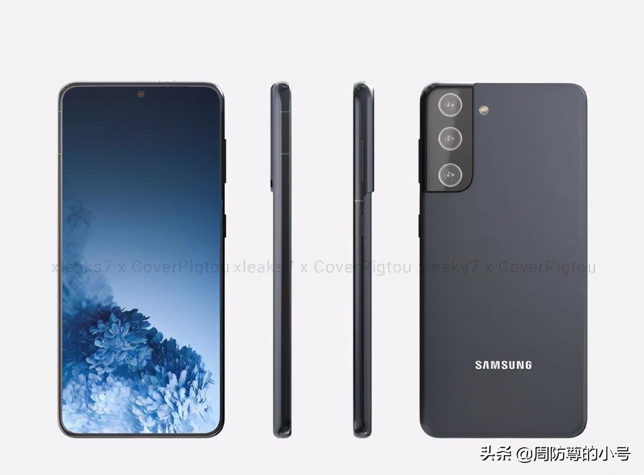 三星Galaxy S21后置镜头设计曝光,三摄模组令人期待