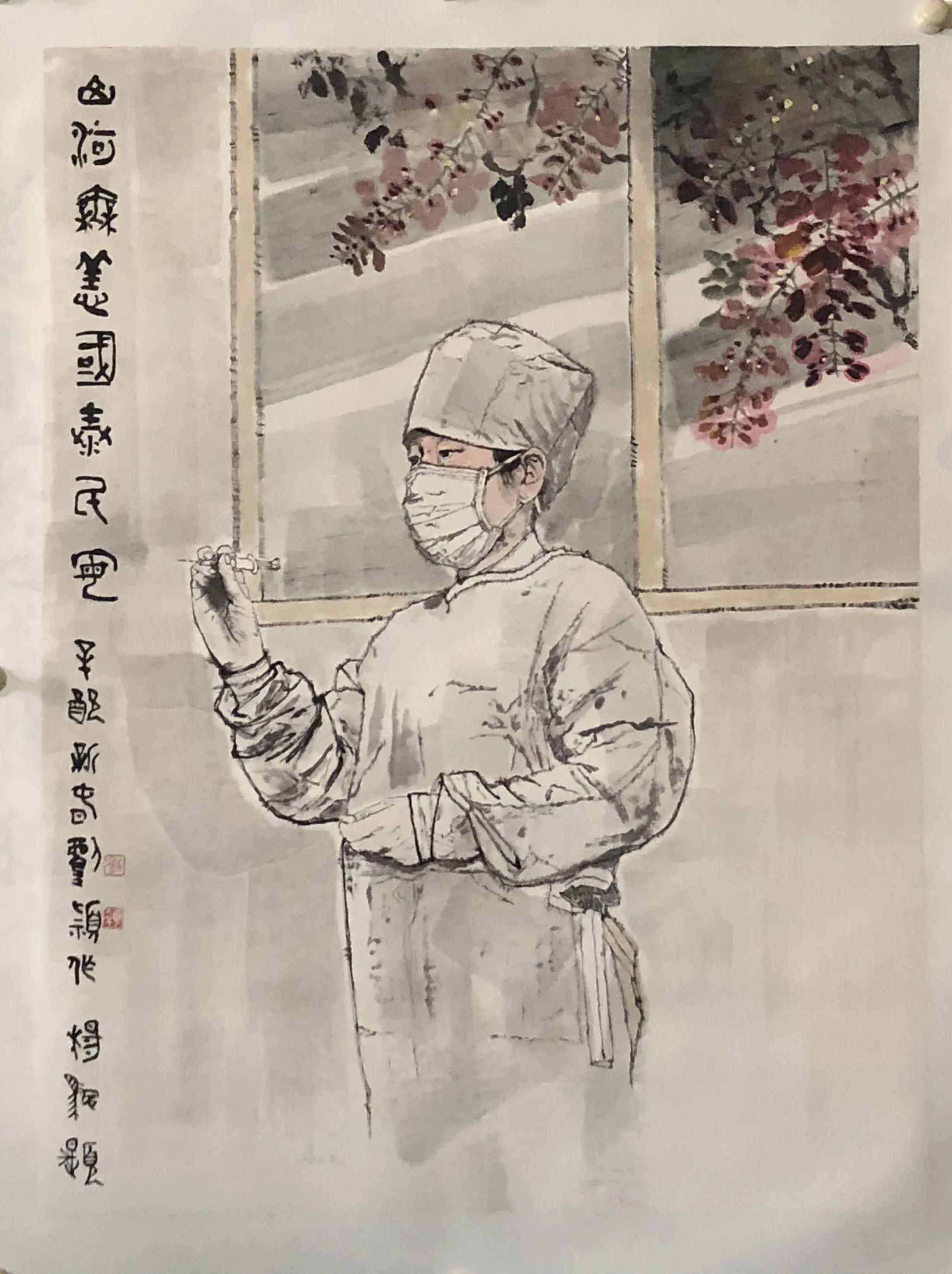潁脱画界 誉驰丹青—刘颖献礼百年华诞展前日开幕
