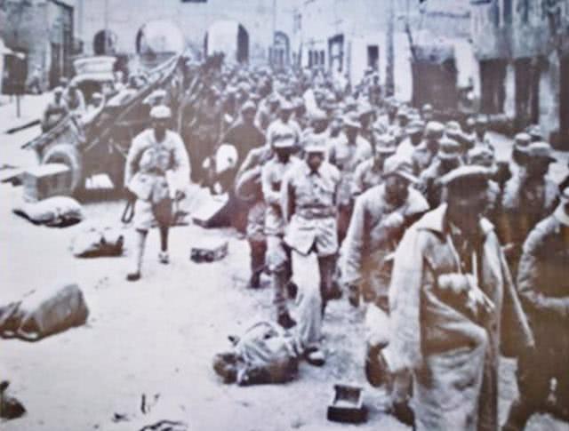 1949年,成都解放后十几万国民党战俘的最终归宿