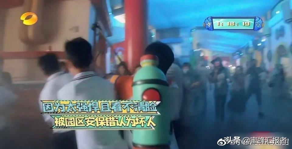 吴奇隆被保安当成坏人按倒,少年之名出道名单李希侃C位出道