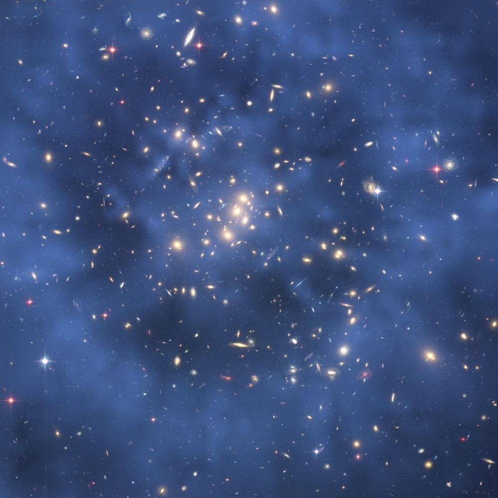 暗物质在太阳系诸多物质行为中起什么作用?