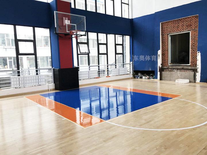 东奥体育|运动木地板的安装工艺