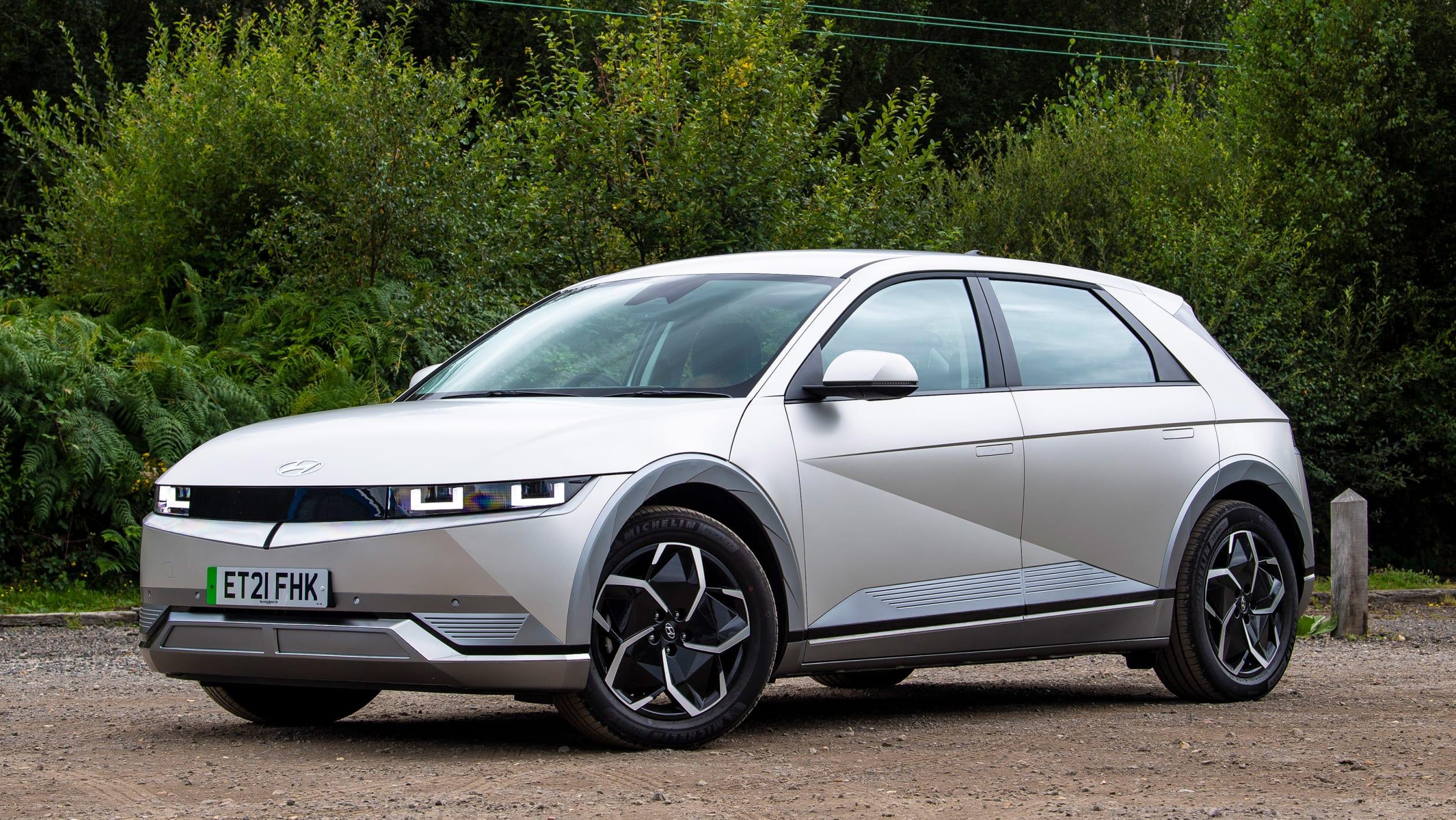 将于明年国产上市,现代Ioniq 5大量实拍图发布