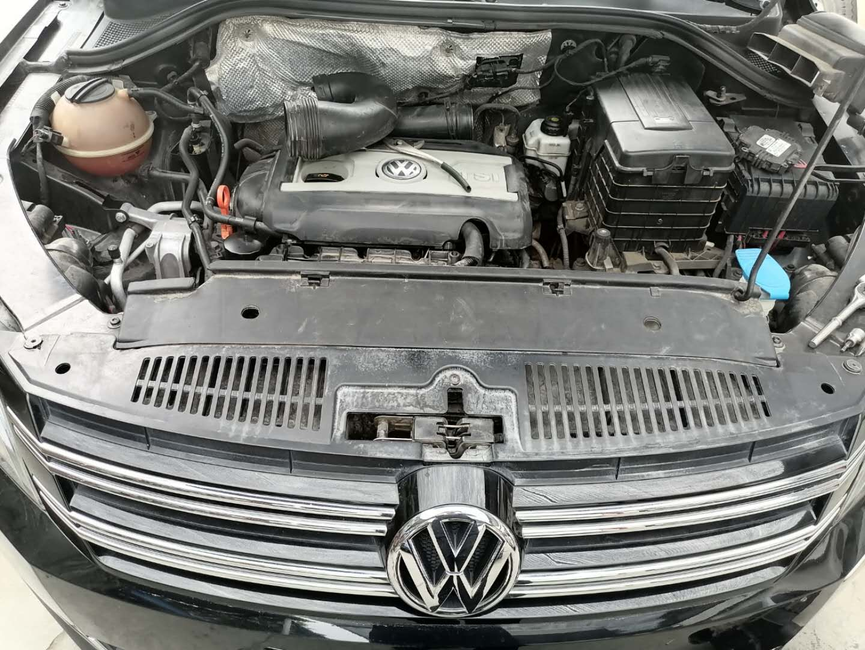 大众途观全车整备维修 先解决底盘各种异响 更换改进型压力轴承