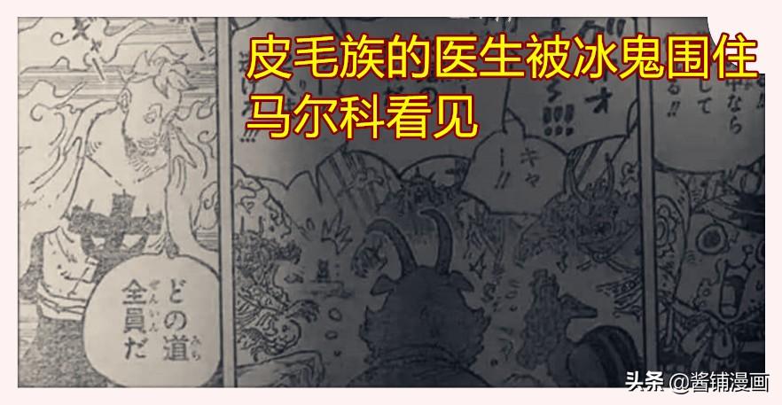 海賊王:索隆和布魯克一起攻擊馬爾科,馬爾科治療系大招叫鳳梨礫