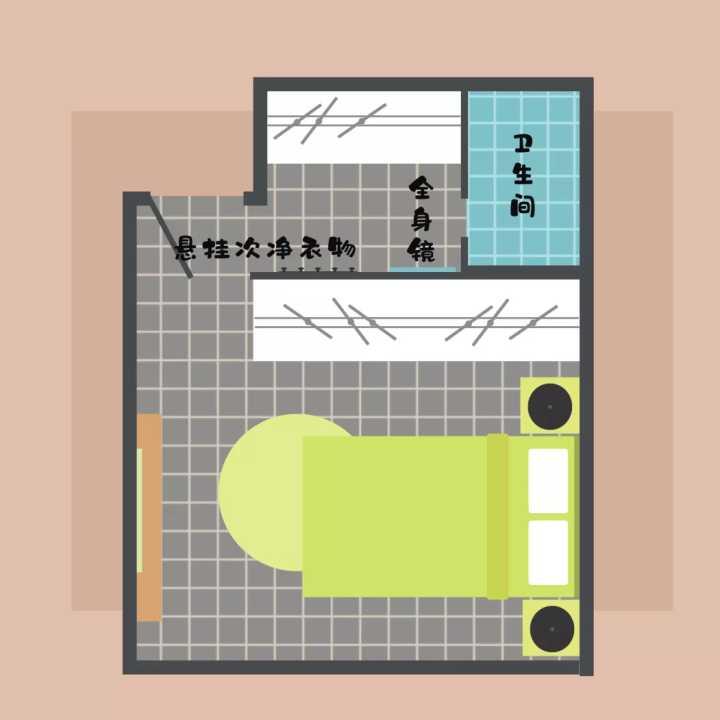如何设计装修一个迷你小衣帽间?