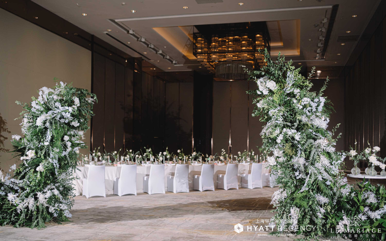 上海   环球港凯悦酒店「倾心纪」主题婚礼秀华丽启幕