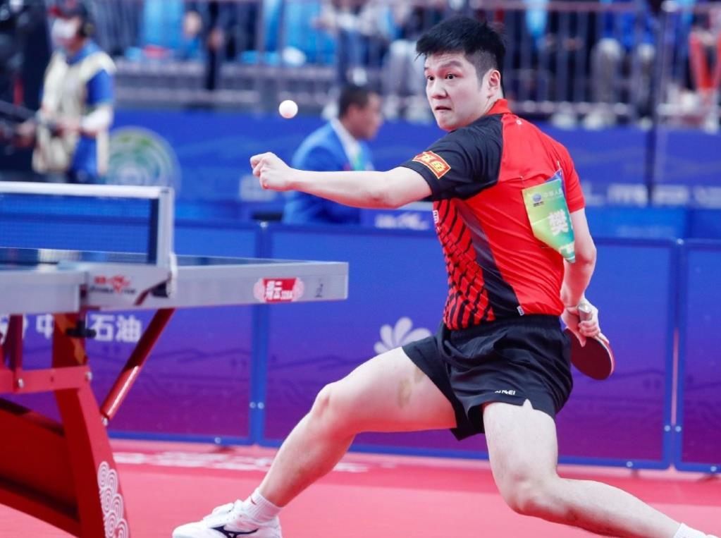 乒乓球比赛太难了,奥运国乒男团在全运都打满了5局