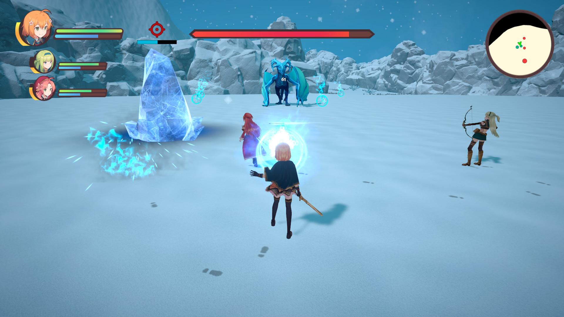 一款国产女性主角的动作冒险类RPG游戏