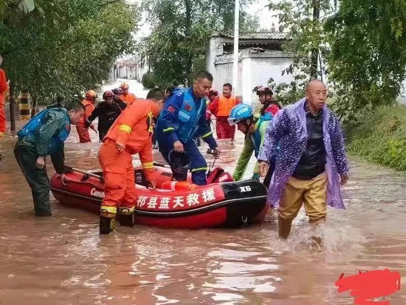 近日:山西遭遇到了近40年以来 大洪峰 。现急需物资
