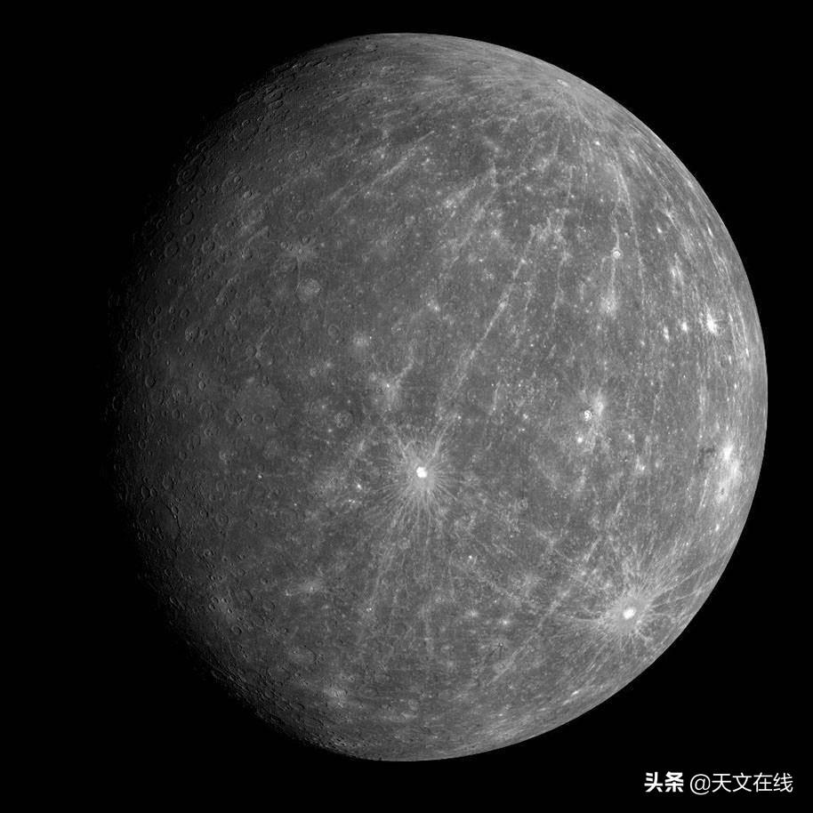 即使是离太阳最近的行星,炽热的水星也会产生冰