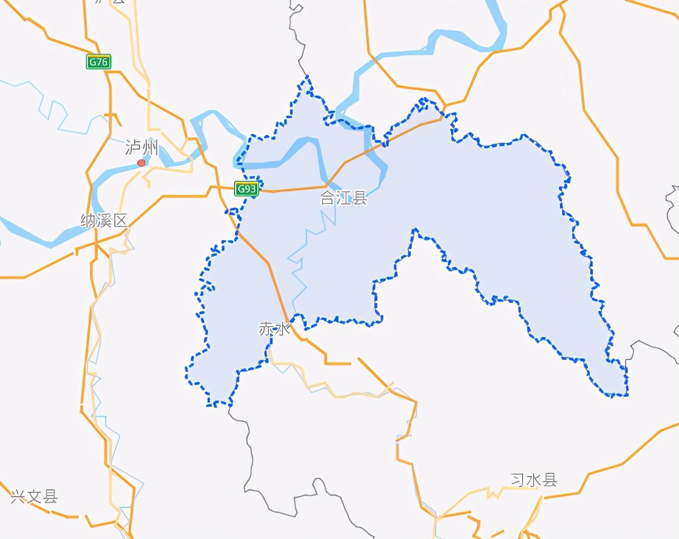 四川省一个县,人口超90万,于北周时期建县