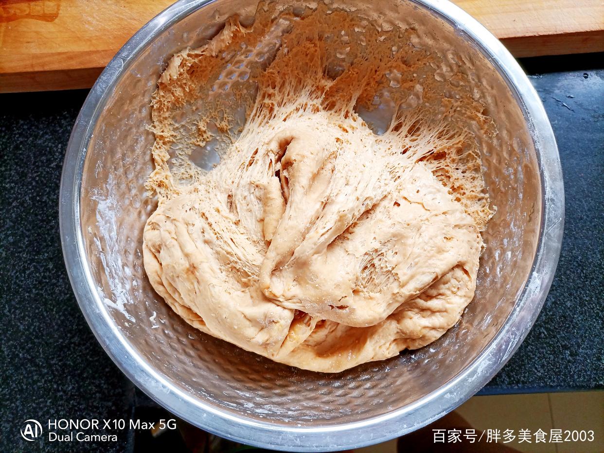 香甜松软的红糖红枣馒头,做法简单,蓬松暄软 美食做法 第10张