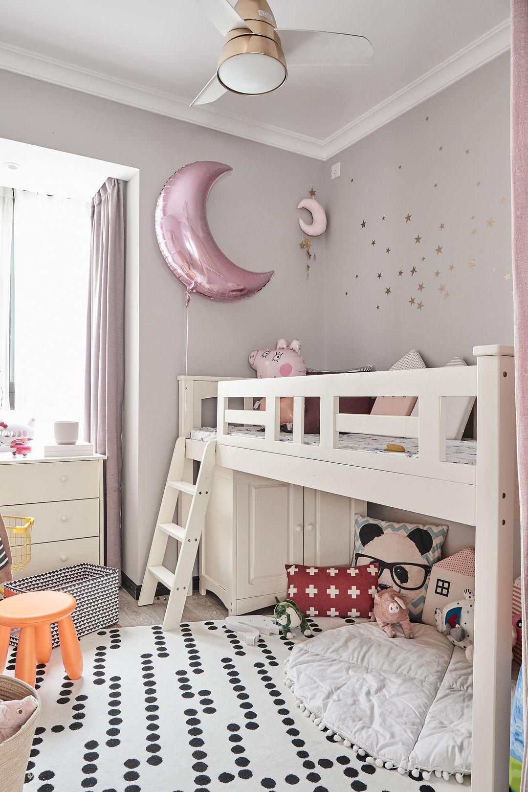 78㎡三居室,清爽時尚的現代風格,中小戶型裝修可以參考