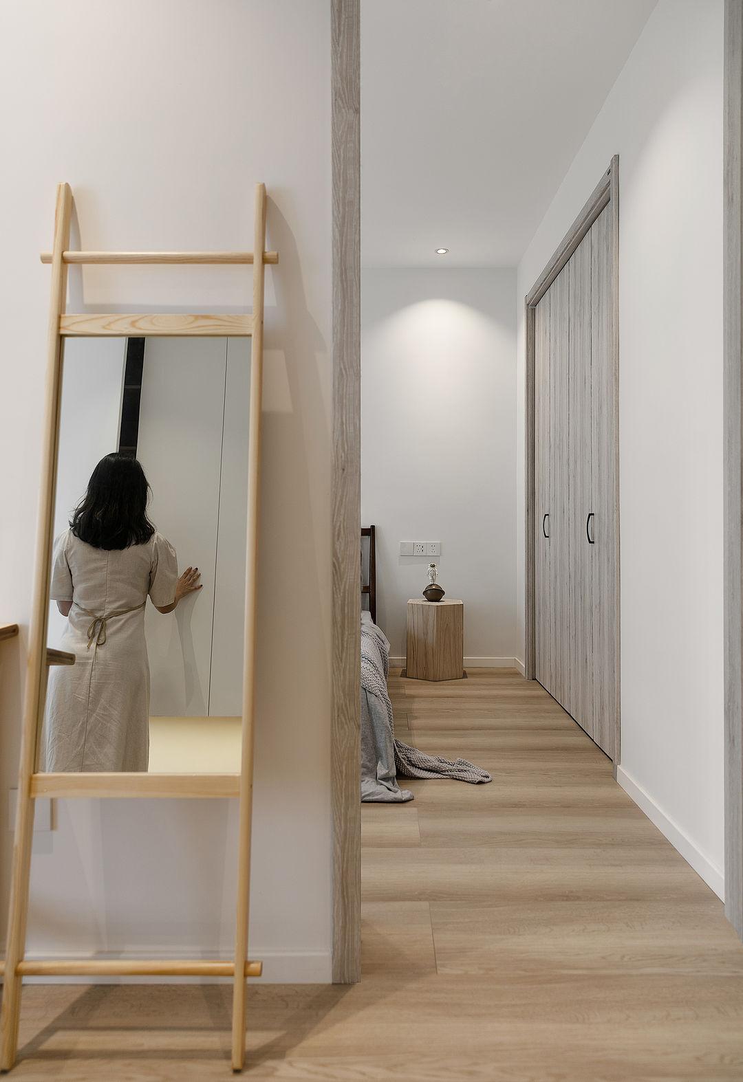 我见过最满意的一套装修,89㎡全屋浅色调,卫生间三分离,完美