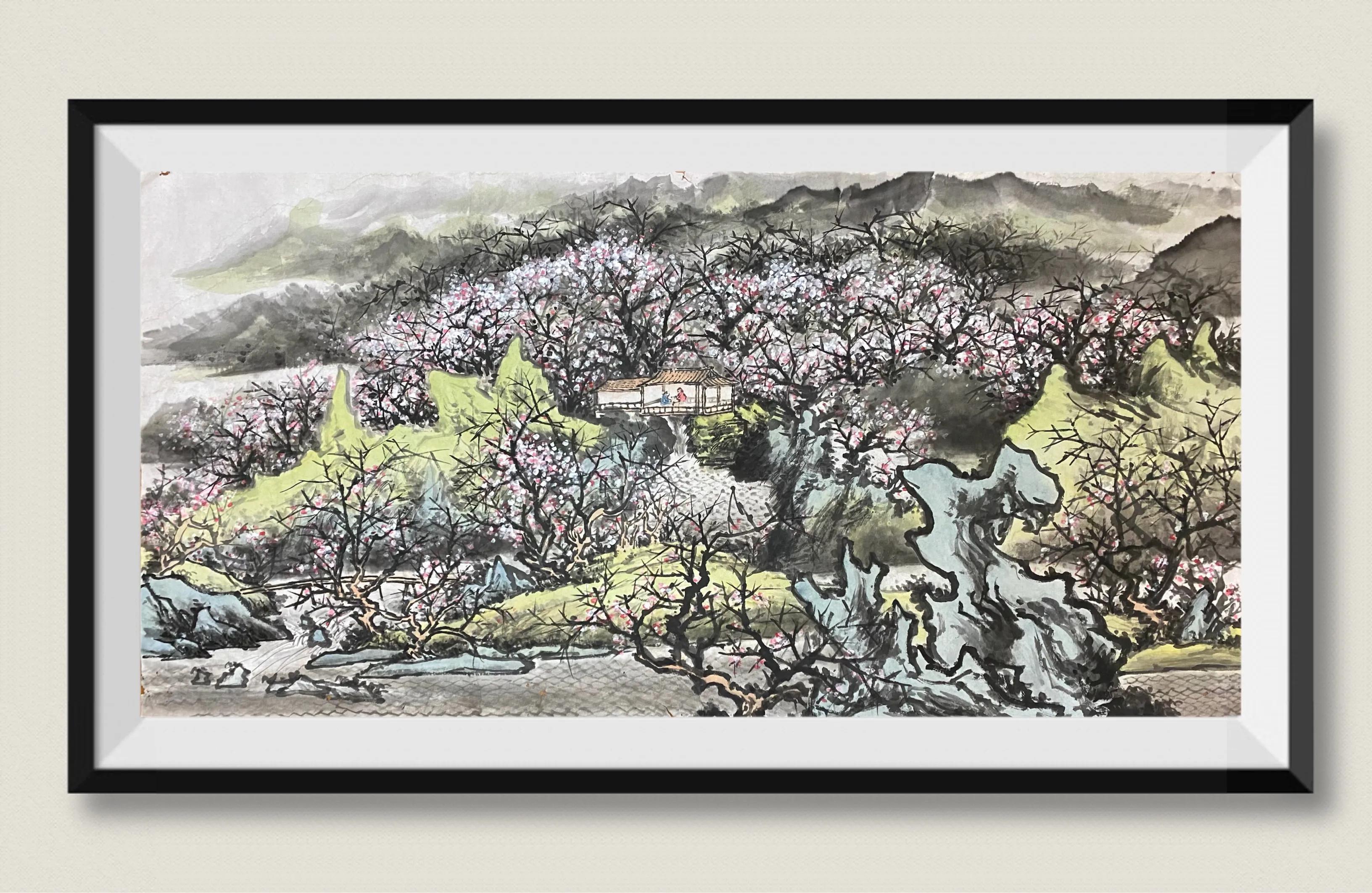 新春闲话《坐花阁》—兼谈西溪南村吴之驎的诗词