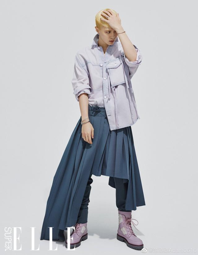 蔡徐坤范丞丞易烊千玺罕见撞衫,人气男神,同款西装风格不同