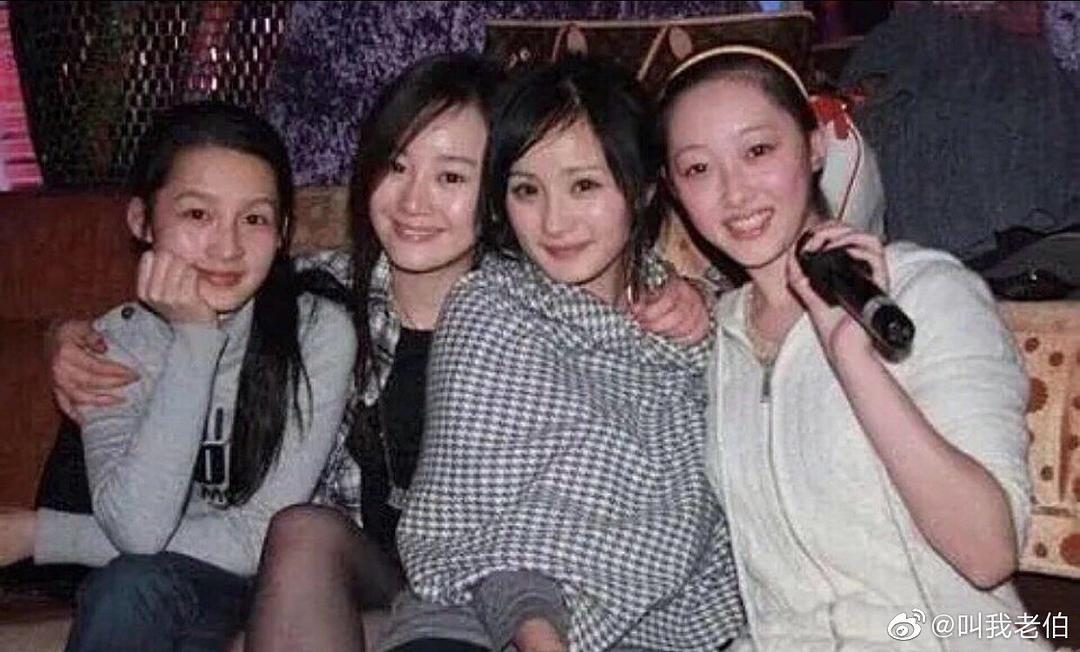 杨幂李沁金晨同框,金晨最白最显眼,李沁加了刘海不就是孙怡吗?
