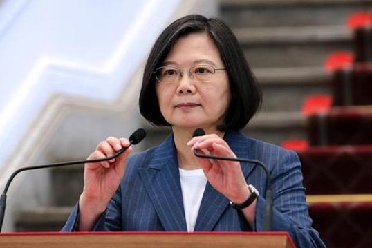 """将台湾视为""""国家""""?蔡英文一改常态,难表""""欢迎"""""""