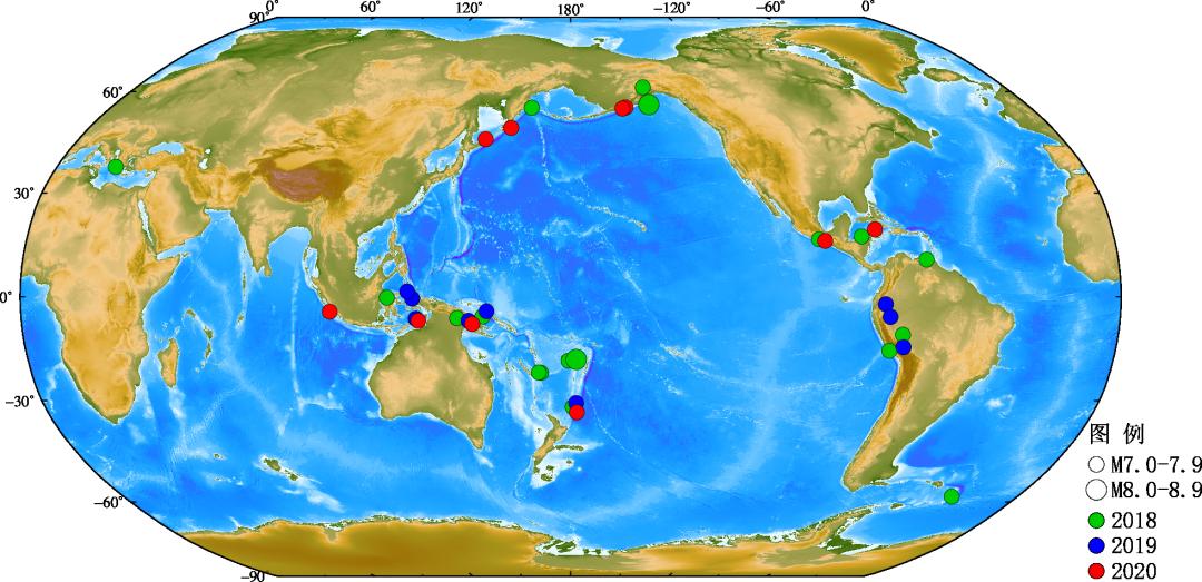 2020地震最新消息今天:2020年地震行动概况