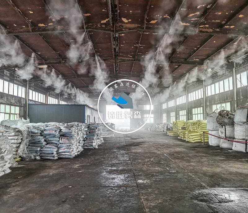 砂石厂、水泥厂等如何预防职业病——锦胜雾森人造雾