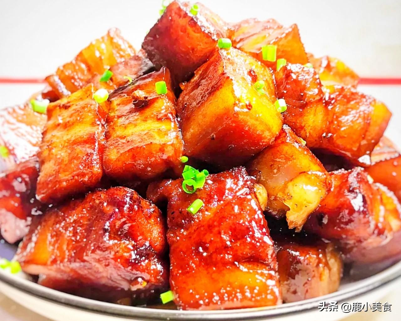 我家红烧肉从来不焯水,用3个步骤代替,红烧肉酱香软嫩,无腥味