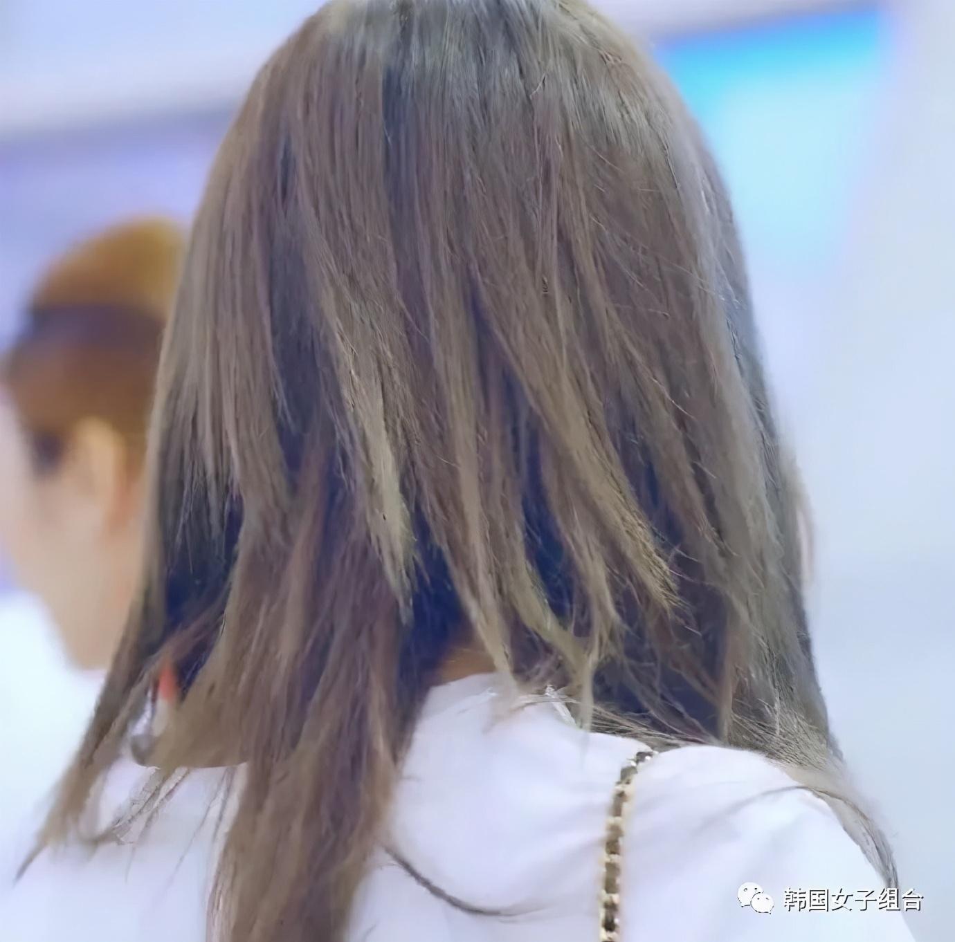 经常染发漂发,导致头发时常会断掉的女团爱豆们