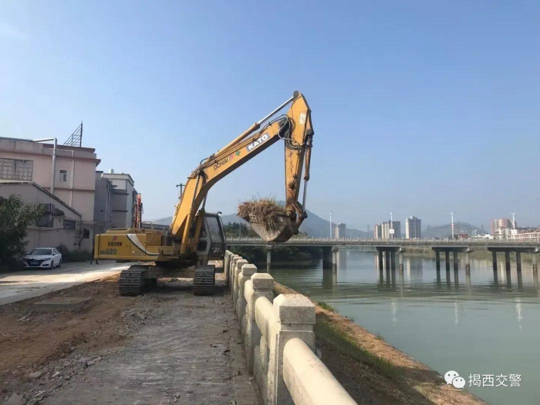 揭西县城这些路段近期临时占道施工,请注意绕行