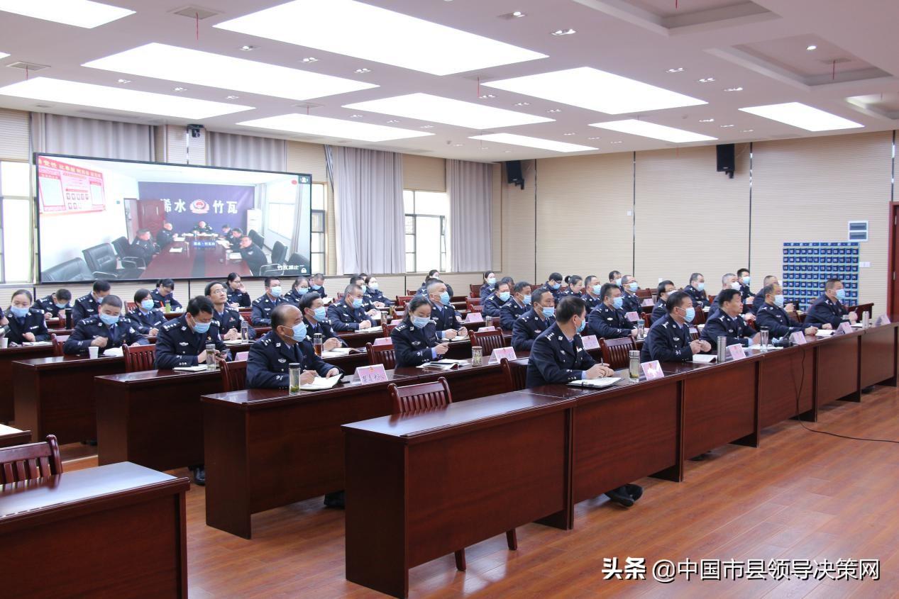湖北浠水县公安局开展十九届五中全会精神宣讲活动
