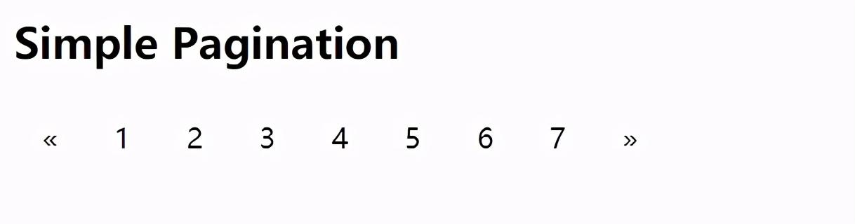一篇文章带你了解CSS 分页实例