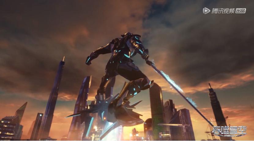《吞噬星空》动画——未来世界是如何在动画领域被打造出来的?