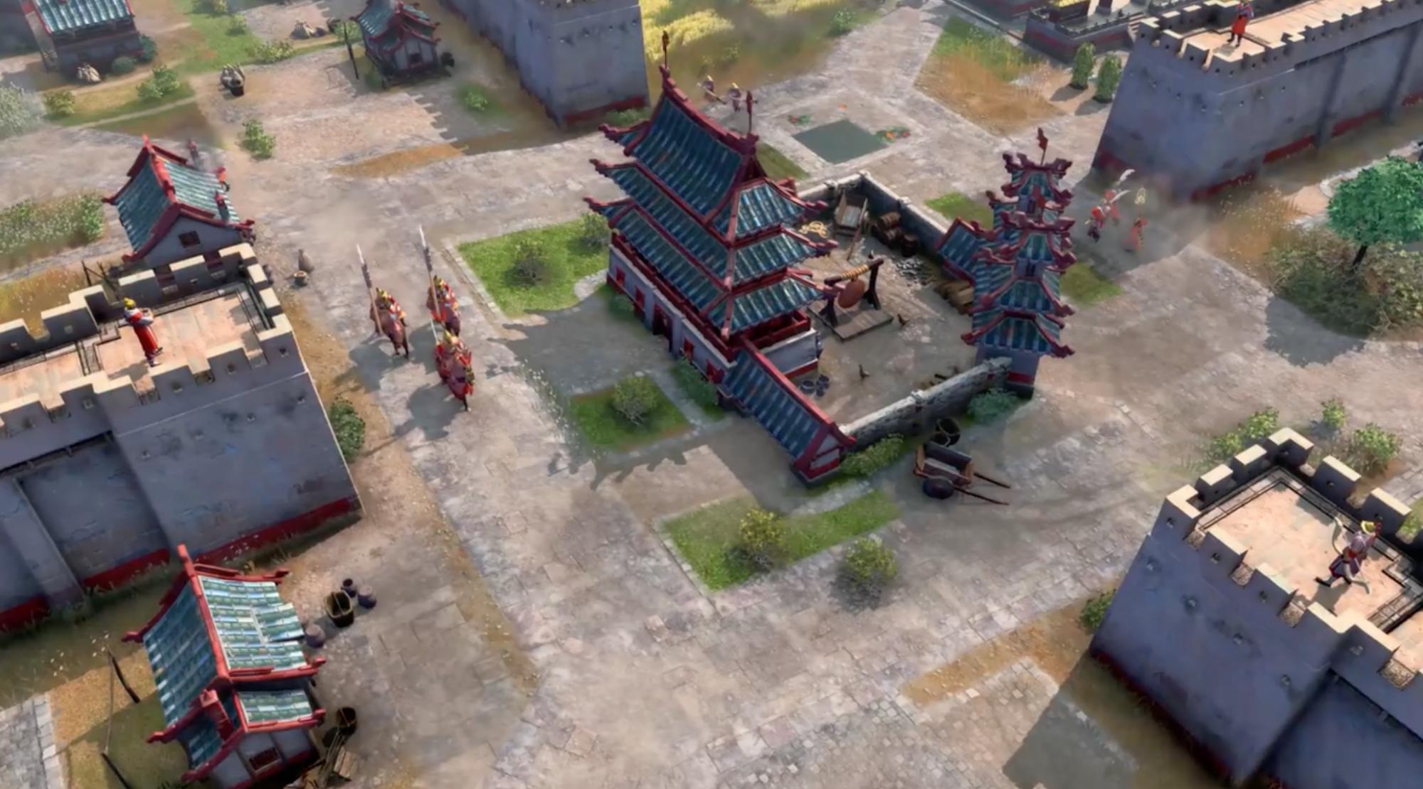 《帝国时代4》秋季上架!中国势力说普通话,集合唐、宋、元、明