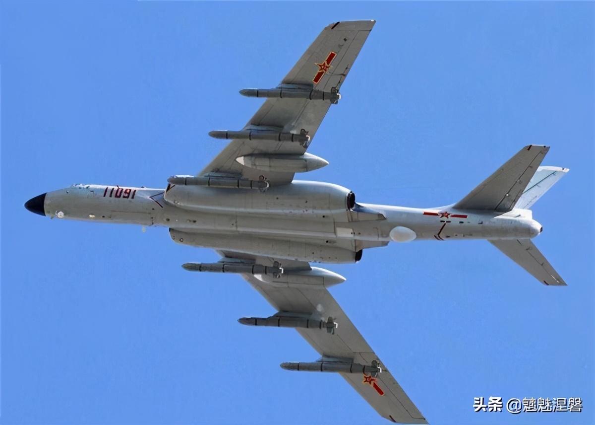 """轰6K测试""""炸弹之母""""超级炸弹"""