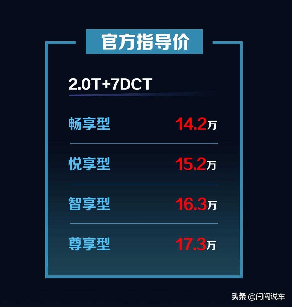 配置/内饰焕新升级,新款哈弗H7正式上市售价14.2万元起