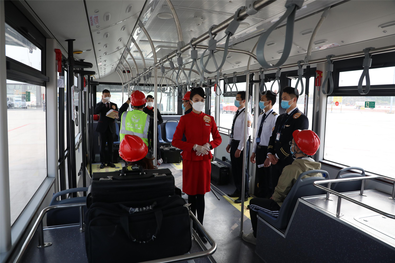 川航完成首次天府机场全流程演练