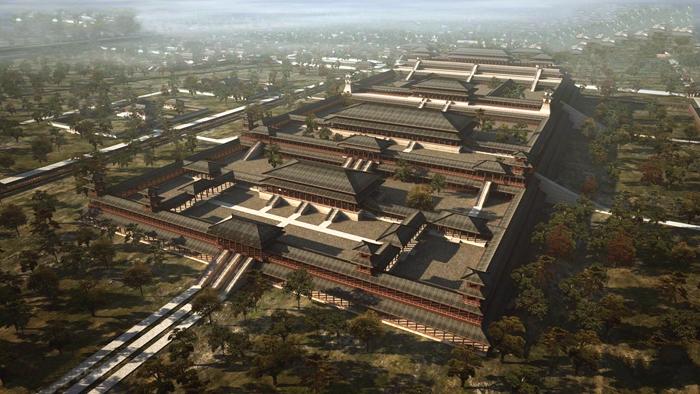 2000多年前世界上最大的宫殿,当年刘邦与老父亲在此嬉笑问答