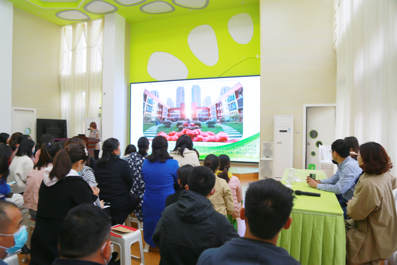 郑州这个区举办校园安全工作观摩会
