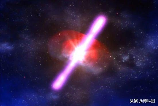 天文学家探测百年一遇的伽马射线!
