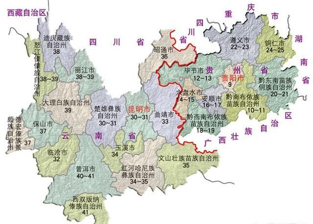 云南和贵州都是潜力股,到底谁的潜力更大?