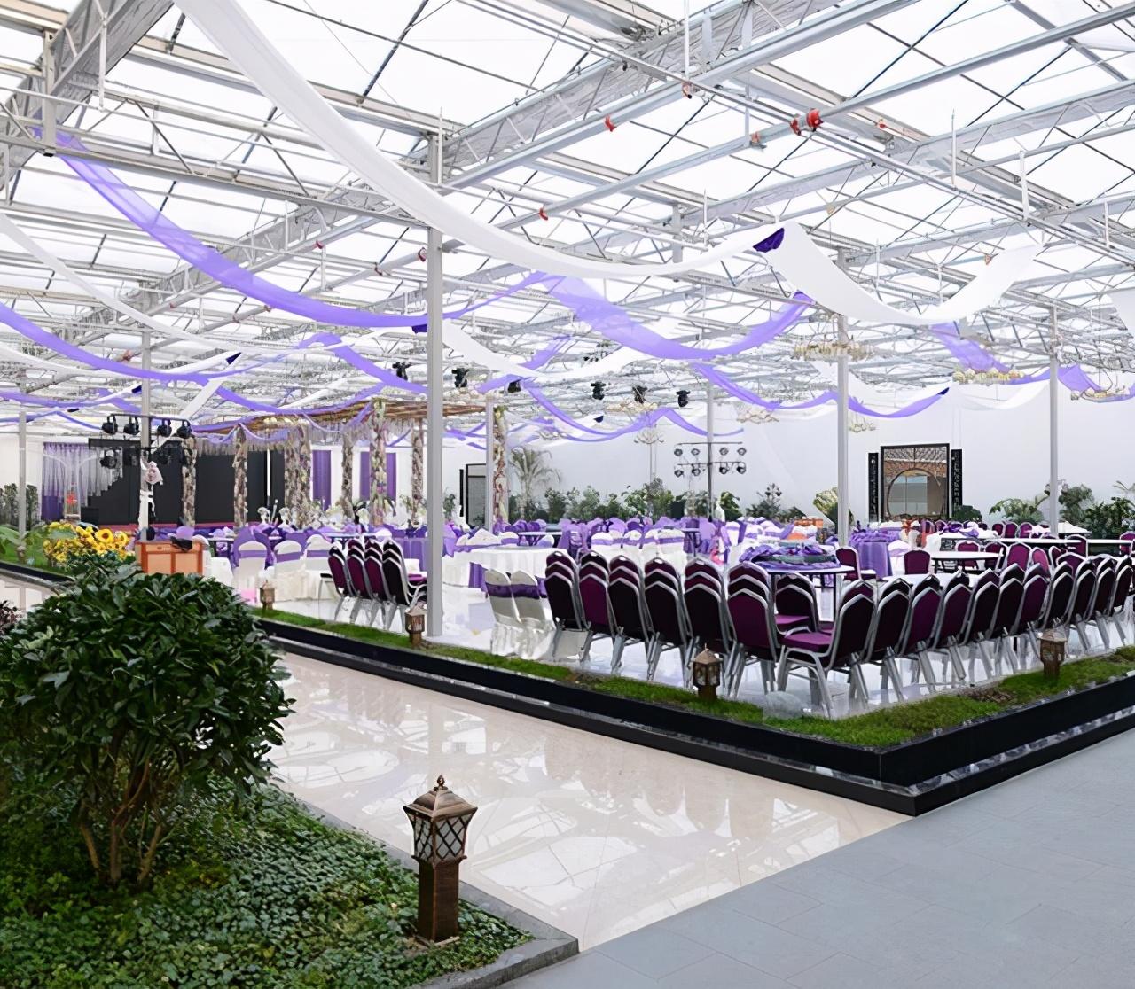 玻璃温室大棚+农业园主题你了解多少