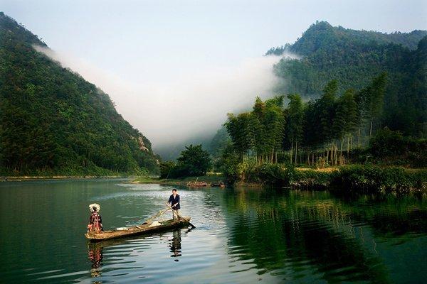 """湖南绥宁县,中国最早称""""徽州""""之地,全国最大的杂交水稻制种县"""