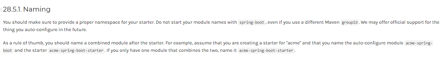 SpringBoot开发自己的Starter