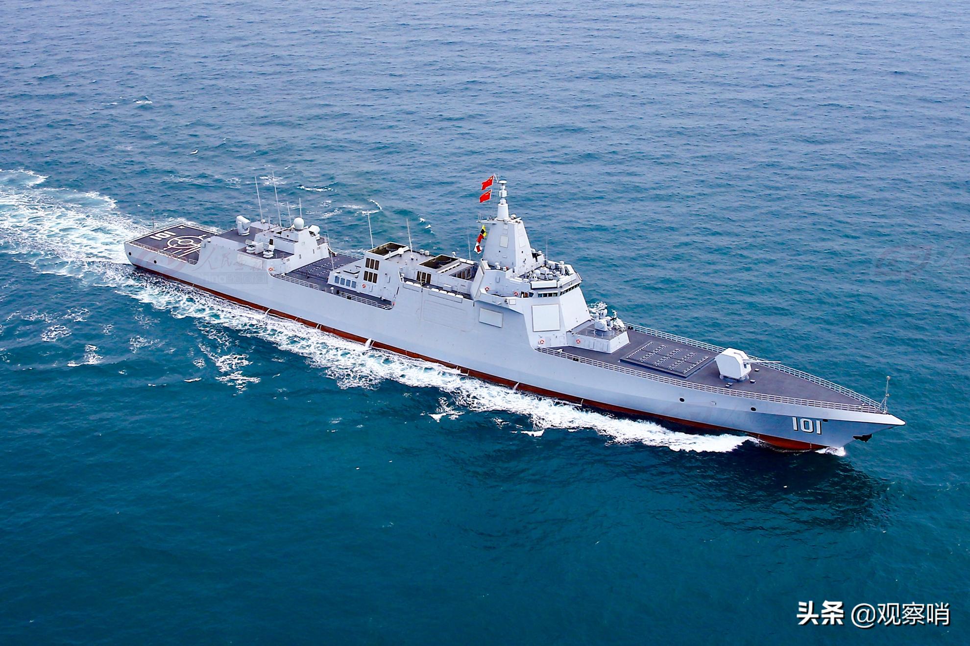 """两舰退役!人民海军驱逐舰告别""""80后"""",实现现代化和年轻化"""