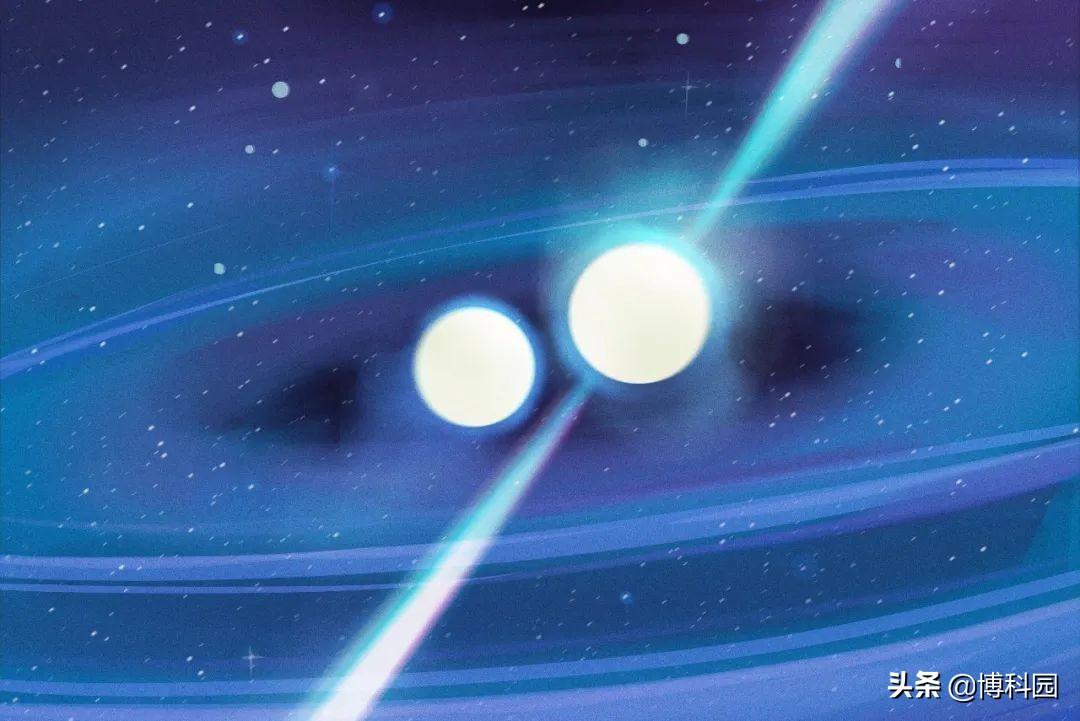 在1.3亿光年外,发现两颗中子星:将在4.7亿年后碰撞合并