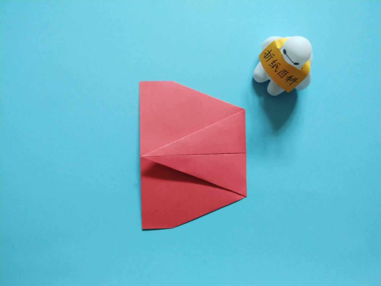 能飞得很远的折纸飞机,简单几步就做好,手工DIY折纸图解教程 家务妙招 第4张
