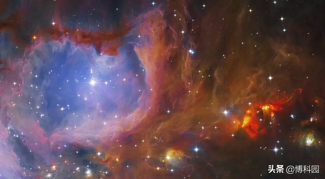 射电望远镜观测到,1000光年外的英仙座中,有74颗原恒星