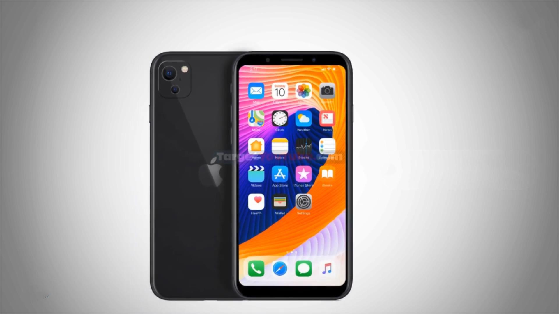 iPhoneSE3概念图:砍刘海窄边框后置双摄,比iPhone11差点意思