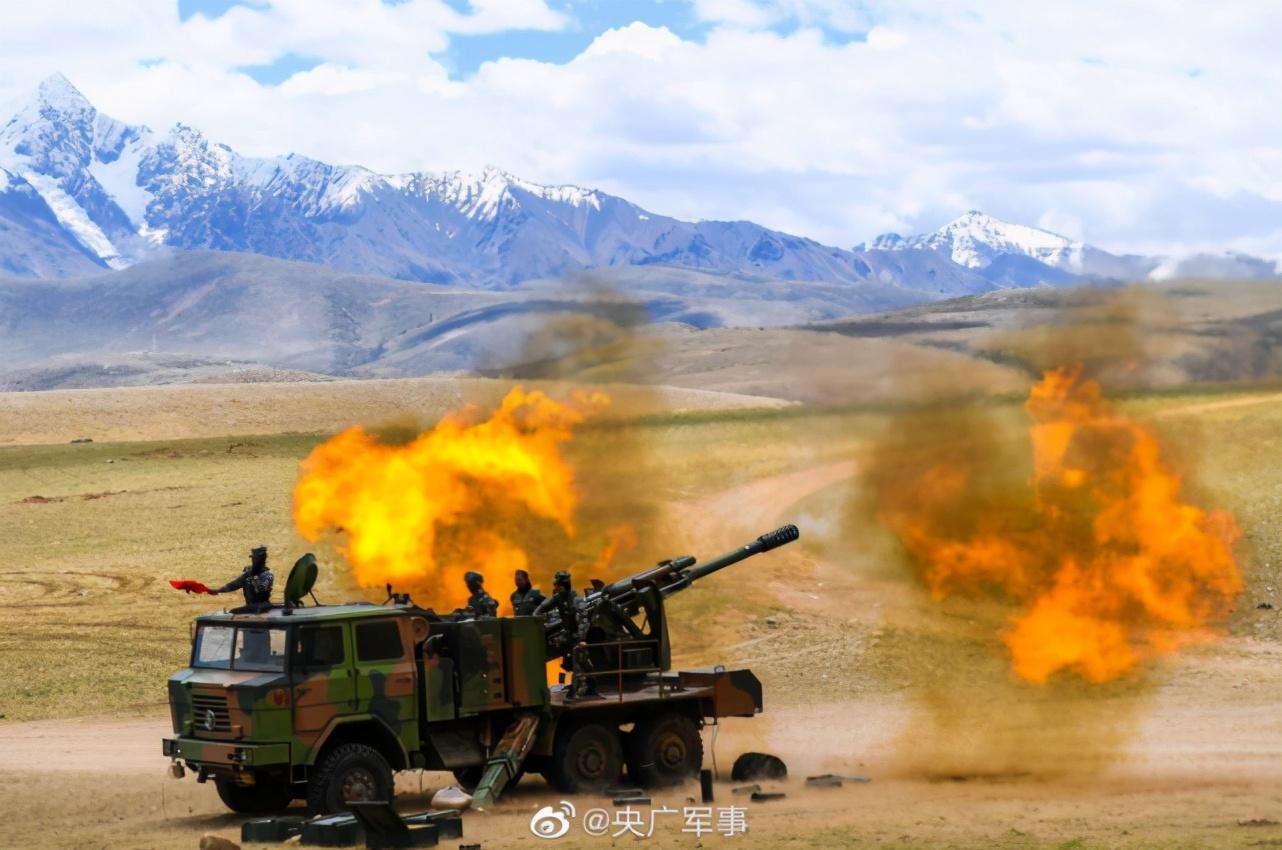 印媒:列城实控线附近发现中国坦克运输车,解放军并未放松警惕