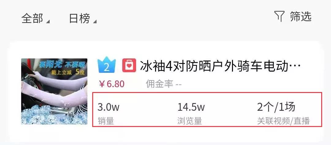 3.22-3.28抖音商品榜:20%高佣神仙商品8秒视频狂卖4.7w单